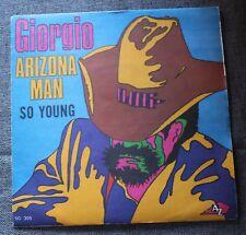 Giorgio - Moroder, arizona man / so young,  SP - 45 tours