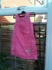 Unique Ginkana Pink Summer Girls Dress Size 7 Yrs VGC