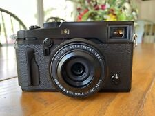 fujifilm fuji x-pro 2 with 27mm f2.8 R WR lens And Two Extra Batteries, Chargers