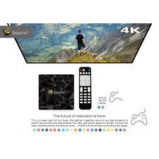 Beelink GT1 Ultimate Android 7.1 Double Wi-Fi piles noyau Octa TV Box avec LED