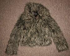 Próxima Abrigo cálido de piel sintética ladiesjacket Talla 8
