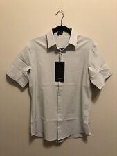 NWT Men's Lululemon Medium Airing Easy Shirt Short Sleeve Button Down VPOR $98