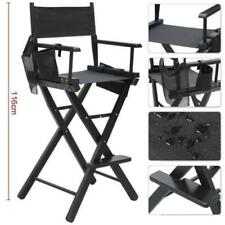 Top Quality Professional Black Folding Makeup Artist Directors Saloon Chair
