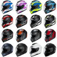 NEW - HJC C70 Polycarbonate Motorcycle Helmet DOT - Pick Size & Color