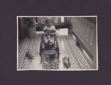 ANTIQUE PHOTO / PEDAL CAR / PUERTO RICO / 1950's