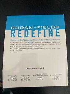 NEW FORMULA SEALED Rodan and + Fields  REDEFINE Regimen Exp 2022
