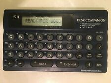 SEIKO Instruments Desk Companion English Pocket Spell Checker SII UX-1600 - Rare