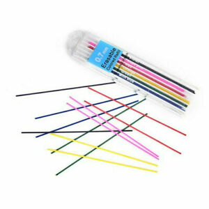 12x 0.7mm Colorful Automatic Mechanical Pencil Refill Lead Erasable Painting Kit