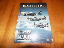 WEAPONS OF WAR FIGHTERS Fighter Air Force Aircraft Planes Military Plane DVD NEW