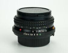 Minolta MD Rokkor 45mm 1:2 obiettivo pancake lens md mount