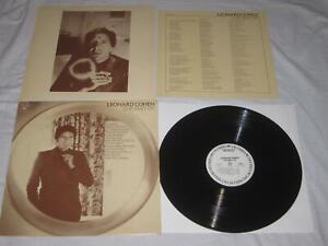 Best of Leonard Cohen 33 Rpm Lp Record PROMO