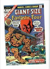 *Giant-Size Fantastic Four 2 3 John Buscema Watcher Medusa Red Ghost Hatemonger