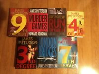 James Patterson Lot of 7 different hardback books