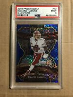 2019 DWAYNE HASKINS PANINI SELECT BLUE /175 ROOKIE RC PSA 9 ROOKIE REFRACTOR