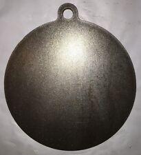 "Ar500 Steel Target 8"" X 1/4"" Gong Hanger NRA Action Pistol Plate"