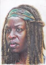 Michonne Walking Dead ART PENCIL DRAWING A4