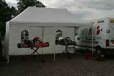 Karting Carpa Gazebo 6mx3m Marco De Acero Resistente refugio Ex-Display