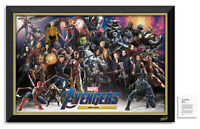 The Avengers MCU Stan Lee Facsimile Signed Framed Museum Canvas™ Special Edition