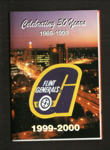 Flint Generals--1999-00 Pocket Schedule--Pepsi--UHL