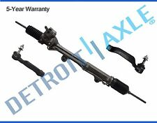 Power Steering Rack & Pinion Assembly + Outer Tie Rod Ends for Jaguar Lincoln