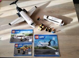 LEGO 60102 - Avion Et Limousine VIP - City