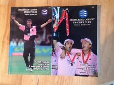 Middlesex County Cricket Club Reviews 2008 & 2009