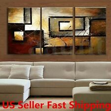 3Pcs Modern Abstract Canvas Oil Painting Print Art Wall Home Decor No Frame