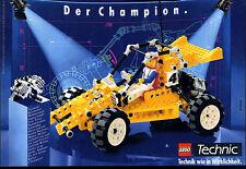 LEGO TECHNIC -- -- il campione-migliaia di chilometri sabbia del deserto -- Pubblicità di 1990 -