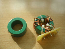 Green ferrite toroid ring inductor 425uh Heavy to low Frequency EMI pack 5 Z1055
