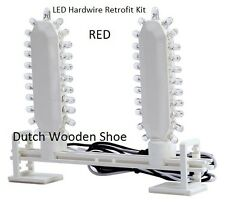 LED Hardwire Retrofit Kit with Mounting Bracket,for RED EXIT Signs ,120/277 Volt