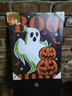 Happy Halloween BOO !Halloween Super Scary ghost and ghoulish pumpkins lights up