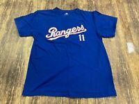 Yu Darvish Texas Rangers MLB Baseball Blue Jersey/Shirt - Majestic - Youth Large