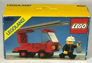 Lego Classic Town set 6621 Fire Truck legoland vigili fuoco pompieri sealed MISB