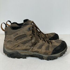 Merrell Men's Earth Moab 2 Gore Tex Mid Hiking Boots Size 11.5 Lace Up