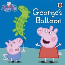 Peppa Pig: George's Balloon, Ladybird Paperback Picture Book - New