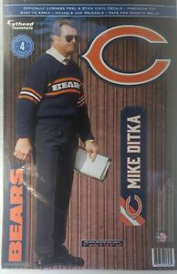 Mike Ditka Chicago Bears Fathead Teammate Sticker Wall Decal 11x17