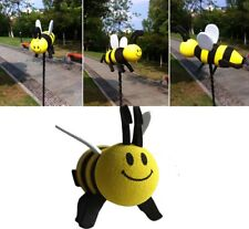 Car Antenna Accessory Smiley Honey Bumble Bee Aerial Ball Decor Topper Honey