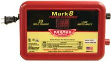 Parmak MARK 8/7 Electric Fence Charger, 110/120 V, 1.1 to 4.9 J