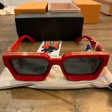 Louis Vuitton X Virgil Abloh Millionaire Sunglasses Red NEW