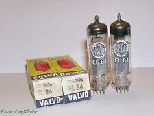 NOS  VALVO-Mullard EL84 / 6BQ5 Pair tubes, Original box. *1962s by Mullard *