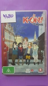K-ON. The Movie. (2 disc). Pre-owned DVD VGC. PAL R4