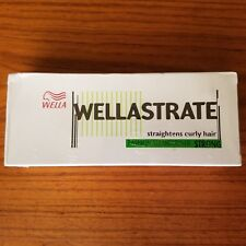 Wella Wellastrate Straight Hair Straightens Curly Hair Strong NIP 100g + 100g