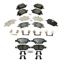 NEW Front and Rear Brake Pad Sets Kit ACDelco For Chevy HHR Malibu Saturn Aura