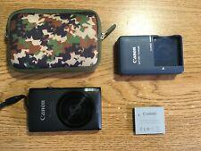 Canon PowerShot ELPH 300 HS 12.1MP Digital Camera - Black - 2 batteries