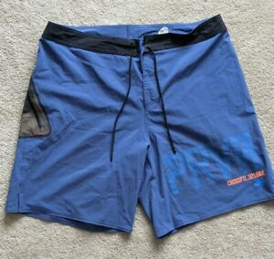 "Mens Reebok Crossfit shorts 34"" with pocket blue"