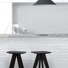 Matte White Spanish Handmade Subway Tiles 300x75mm Premium Grade