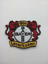 Aufnäher Patch FC Fußball Football club Bayer 04 Leverkusen Logo Bügelbild neu