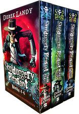 Skulduggery Pleasant Series 2 Collection Derek Landy 3 Books Box Set (Book4-6)