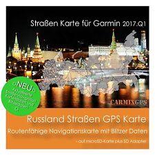 CARMIX-GPS | Russland Straßen Karte für Garmin | microSD-SD MC2017Q1RU
