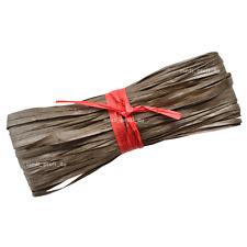1 50 100m - 23 COLOURS Raffia Paper Gifts Ribbon Decorating Scrapbooks CHEAPEST